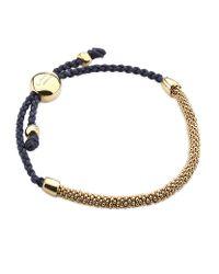 Links of London | Metallic Effervescent Xs Cord Bracelet | Lyst