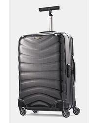 Samsonite | Black 'firelite' Rolling Suitcase for Men | Lyst
