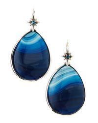 Stephen Dweck - Blue Agate Teardrop Earrings - Lyst