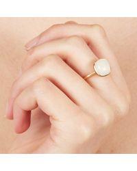 Astley Clarke - Metallic Moonstone Cushion Ring - Lyst