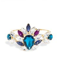 BaubleBar - Multicolor Nightshade Gem Bangle - Lyst