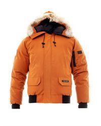 Canada Goose - Orange Chilliwack Bomber Jacket for Men - Lyst