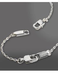 Emporio Armani - Metallic Necklace for Men - Lyst