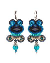 Dori Csengeri | Blue Icarus Earrings | Lyst