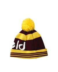 Eastpak - Yellow Penfield Sanford Bobble Hat for Men - Lyst