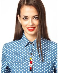Tatty Devine - Multicolor Avant Garde Robot Necklace - Lyst