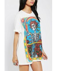 Urban Outfitters | Multicolor Grateful Dead Roll Sleeve Tee | Lyst