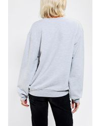 Urban Outfitters - Gray Blackstone Je Taime Pullover Sweatshirt - Lyst