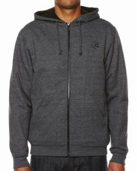 Billabong | Gray Wilharry Sherpa Hoodie for Men | Lyst