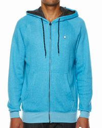 Billabong | Blue Balance Fleece Hoodie for Men | Lyst