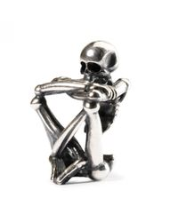 Trollbeads | Metallic Skeleton Spirit Bead | Lyst