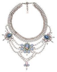 DANNIJO - Metallic Sorella Necklace - Lyst