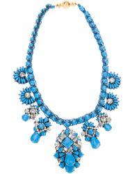 Shourouk - Blue Holybrandeis Necklace - Lyst