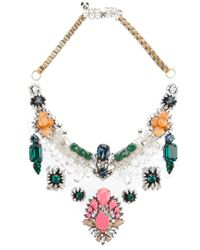 Shourouk | Multicolor Lyubov Necklace | Lyst