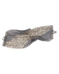 Laura B | Metallic Chainmail Bracelet | Lyst