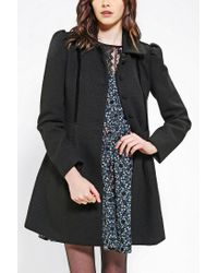 Urban Outfitters | Black Jack By BB Dakota Buckingham Lady Coat | Lyst