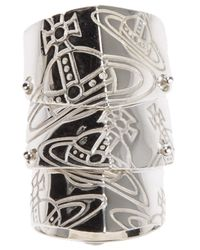 Vivienne Westwood - Metallic Finger Wrap Orb Ring - Lyst