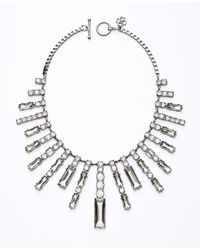 Ann Taylor | Metallic Sunburst Statement Necklace | Lyst