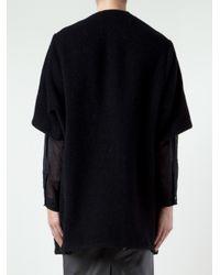 By Malene Birger - Black Berko Cocoon Coat - Lyst