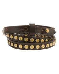 DSquared² - Metallic Calf Leather Bracelet for Men - Lyst