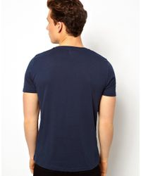 ASOS - Blue Tshirt Anchorman Print for Men - Lyst