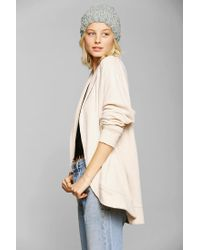 Urban Outfitters - Natural Ecote Open Cardigan for Men - Lyst