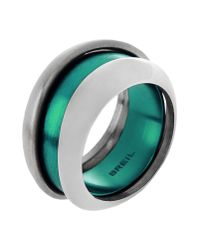 Breil - Green Ring - Lyst