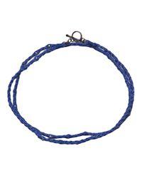 Spinelli Kilcollin - Blue Phoenix Wrap Bracelet - Lyst