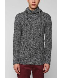 Urban Outfitters | Gray The Narrows Hooded Sweater for Men | Lyst