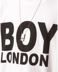 Pepe Jeans - White Boy London Logo Tshirt for Men - Lyst