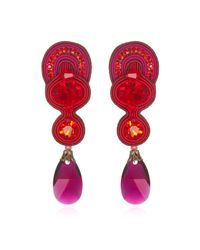 Dori Csengeri | Red Scandal Earrings | Lyst