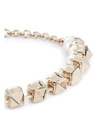 Valentino | Metallic Rockstud Pearl Bracelet | Lyst