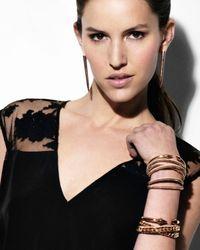 Vita Fede - Pink Wrap Bracelet Nuderosegold - Lyst