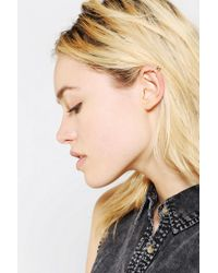 Urban Outfitters | Metallic Duo Cuff Earring Set | Lyst