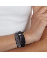 Mizuki - Gray Star Wrap Bracelet - Lyst