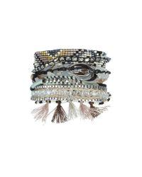 Hipanema | Gray Bracelet Shadow | Lyst