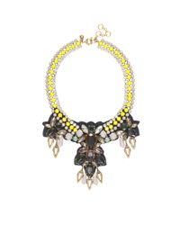 J.Crew | Multicolor Citron Stone Necklace | Lyst