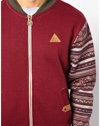 Wesc | Red Rock Revival Zip Up Sweater for Men | Lyst