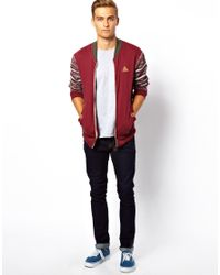 Wesc - Red Rock Revival Zip Up Sweater for Men - Lyst