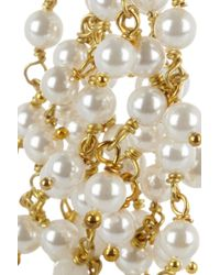 Rosantica | Metallic Pearl and Rock Crystal Earrings | Lyst