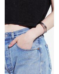 The 2 Bandits - Metallic Rigby Bangle Bracelet - Set Of 3 - Lyst