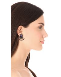 Auden | Purple Coralia Earrings | Lyst