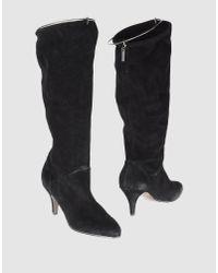 DIESEL - Black Boots - Lyst