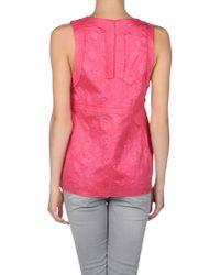 Marni - Pink Top - Lyst