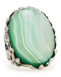 Stephen Dweck   Green Amethyst Delphinium Ring   Lyst