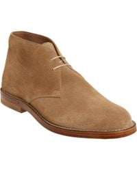 Bottega Veneta - Brown Lace Up Chukka for Men - Lyst