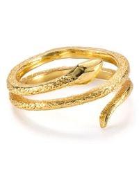 Gorjana | Metallic Boa Ring | Lyst