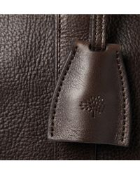Mulberry - Brown Clipper Leather Holdall Bag for Men - Lyst