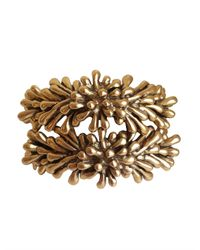 Oscar de la Renta | Metallic Seaweed Bracelet | Lyst