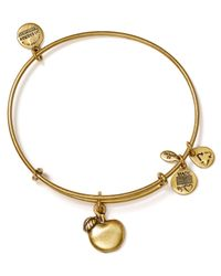 ALEX AND ANI | Metallic Abundance Apple Bangle | Lyst